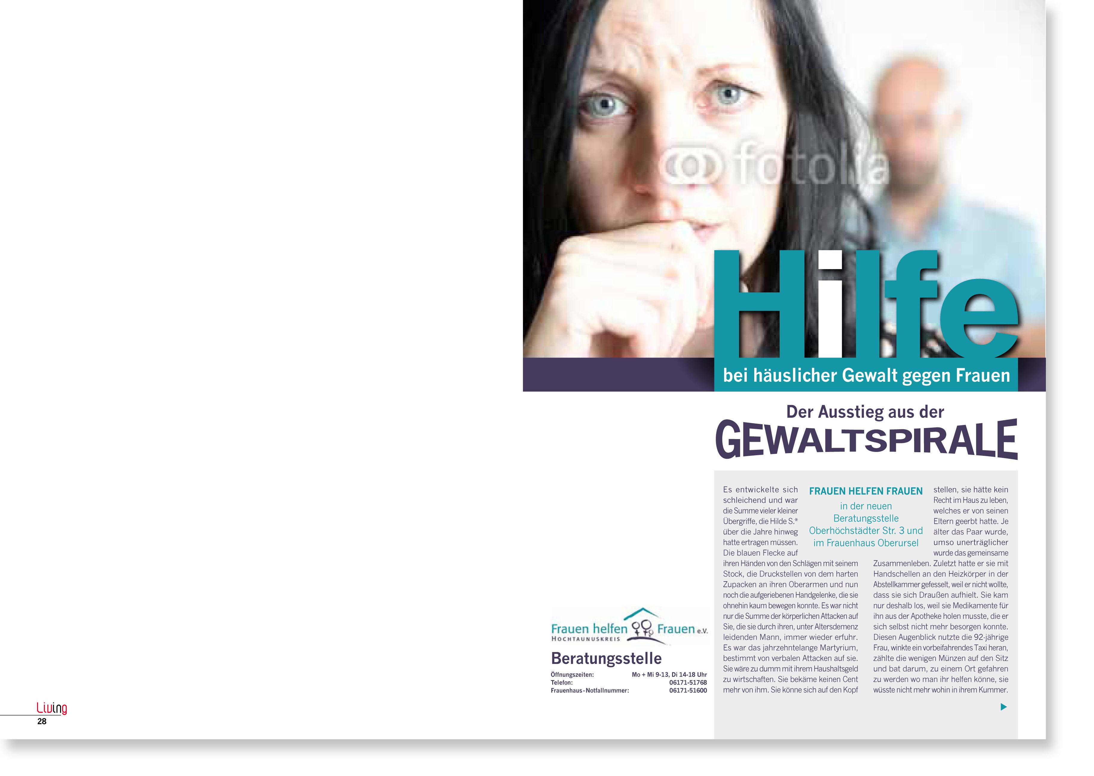 Thema Gewalt gegen Mädchen und Frauen-1